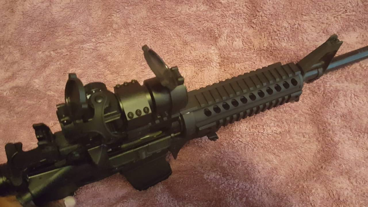 My upgrades to my smith and wesson mp 15 sport 2 youtube publicscrutiny Image collections