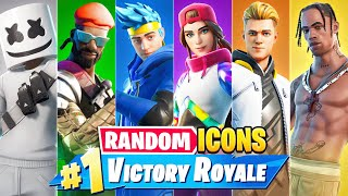 The *RANDOM* ICON BOSS Challenge in Fortnite!