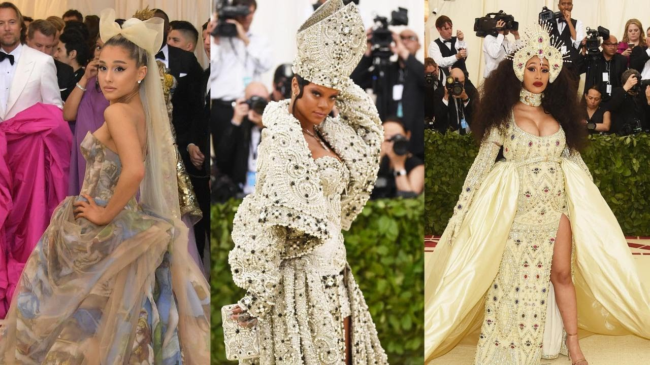 met gala 2018 the best most outrageous and memorable looks youtube