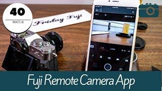 Fuji Remote Camera App