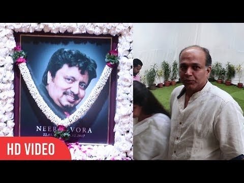 Ashutosh Gowariker At Neeraj Vora