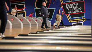 Bowling: Buffaloe Lanes League Night in Harnett County, NC