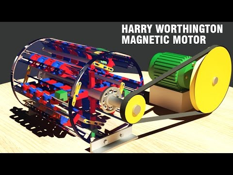 Free Energy Generator Mike Brady Permanent Magnet Mach