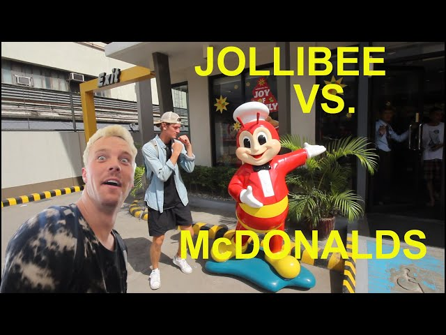JOLLIBEE vs. McDONALDS!!! AMERICANS FIRST TIME EATING JOLLIBEE!!! ft. Bisayang Hilaw