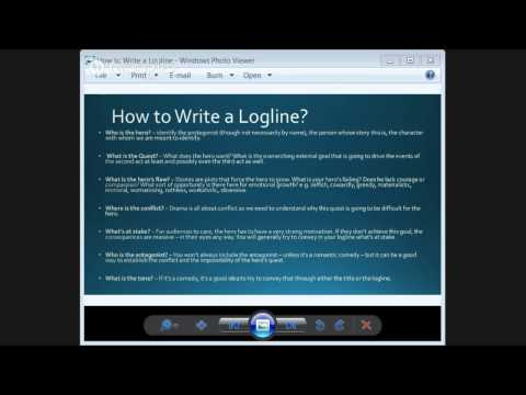 Filmmaking Tips - How to Write Single Line Story / Premise / Logline | Best Script Writers