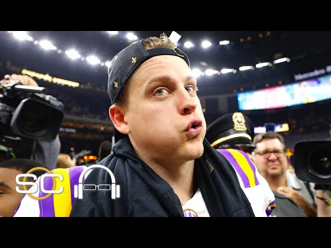 Joe Burrow's championship season at LSU is unlike any the sport has ever seen | SC with SVP