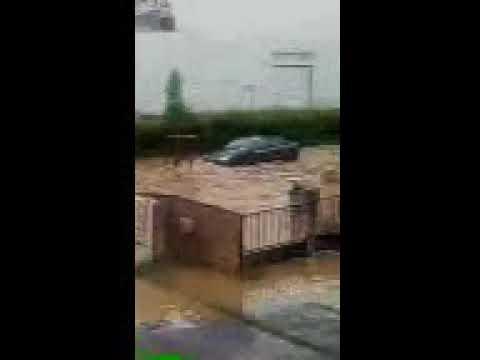 12 juin Une vague traverse la ZAC du Petit Parc à Ecquevilly dans les Yvelines