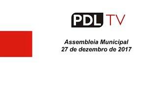 Assembleia Municipal | 27 de dezembro de 2017