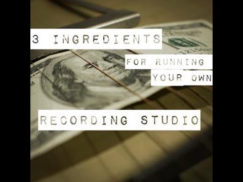 Some Practical Advice when Starting a Recording Studio