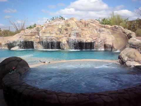 Largest Residential Pool In Arizona Az Lady Gaga Youtube