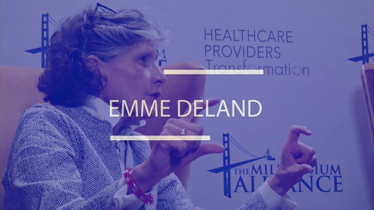 Interview with Emme Deland, SVP & Chief Strategy Officer, New  York-Presbyterian Hospital