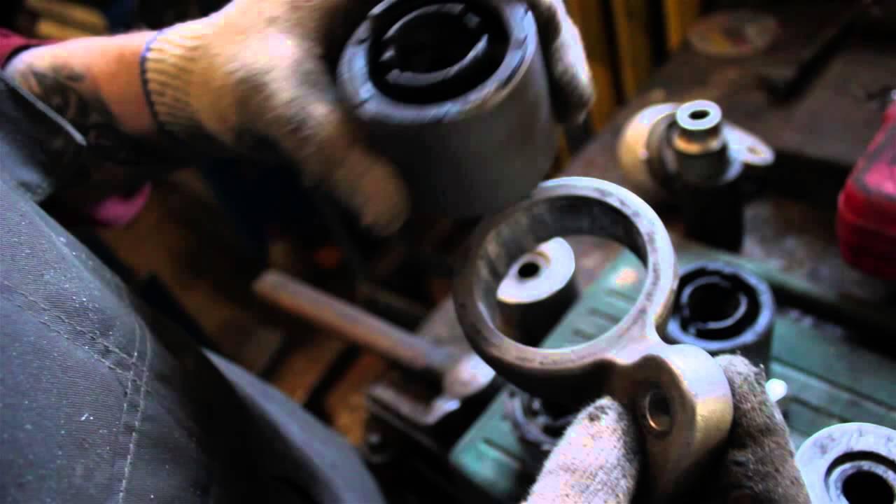 Meyle HD_перепрессовка сайлентблоков переднего рычага BMW e46