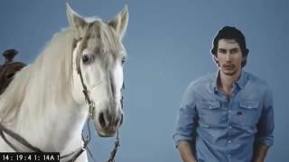 snickers adam driver live super bowl commercial