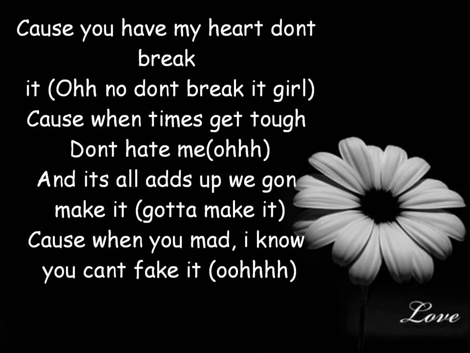 Love Dont Change - Jeremih Lyrics - YouTube