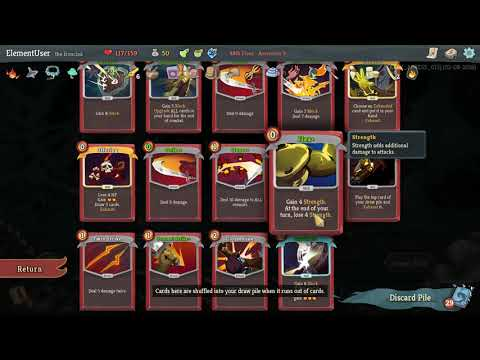 Slay the Spire - Ascension 3 Ironclad Deck  