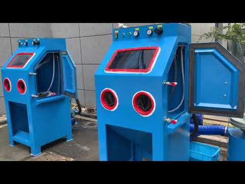 Wet Sandblasting Cabinet, Surface Preparation & Finishing Equipment