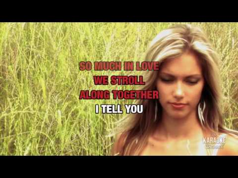 So Much In Love in the style of All-4-One | Karaoke with Lyrics