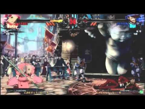2014/7/19 GGXrd at Sega World Omori - Nage(FA) vs Hase(SL)