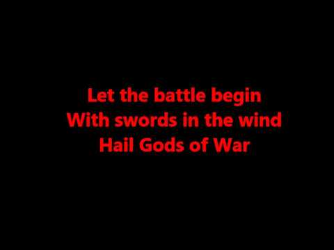 Manowar - Son of Odin (lyrics)