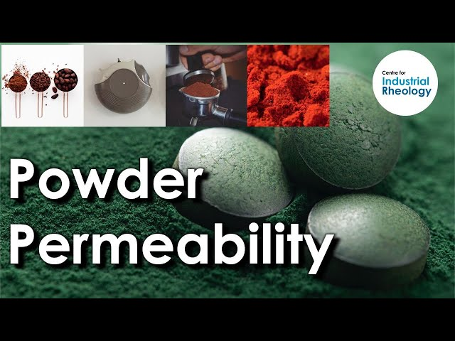 Powder Permeability - Measuring how easily air moves through a powder