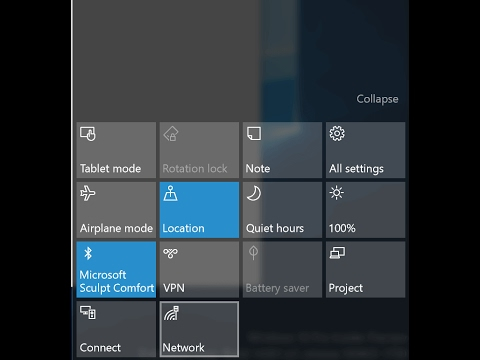 *2017* MISSING ACTION CENTER FIX |WINDOWS 10|