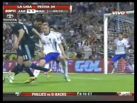 Liga BBVA - Real Madrid - Zaragoza 2-1 [24/04/10] Full Highlights and All Goals