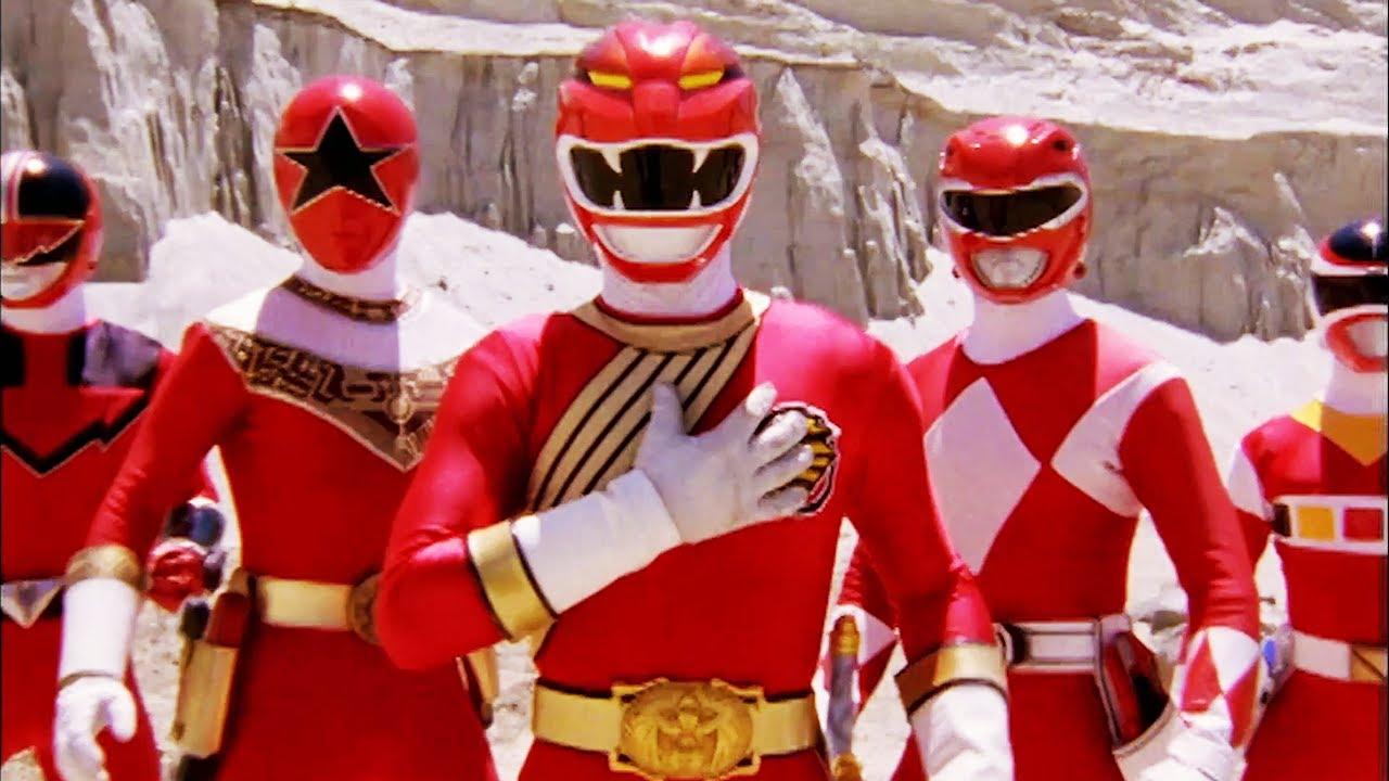 Download Epic Ten Red Ranger Team Up   Forever Red   Power Rangers Wild Force   Power Rangers Official