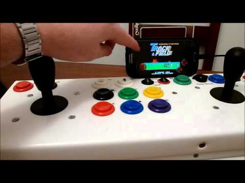 Usb Controller 2 Player Arcade Joystick Android Gaming