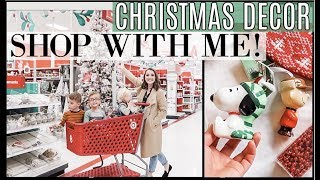 NEW Christmas Decor Shop With Me 🎄*REALISTIC* Affordable Haul from Target & Hobby Lobby