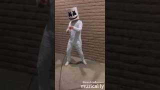 marshmello dancing alone #mellogang