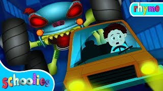 Monster Truck Hunt You | Nursery Rhymes For Toddler Fun Videos For Children Schoolies