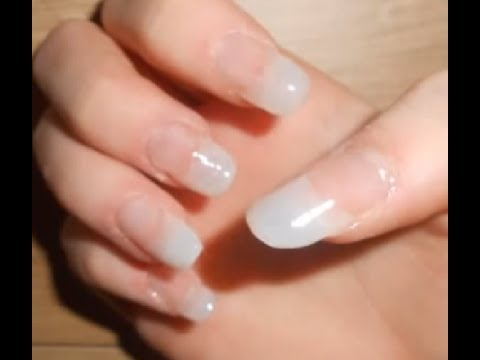 How I Ly My Natural Tips Acrylic Nails You