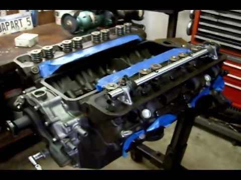 1955 Buick Century 322 (push rods and rocker arms)