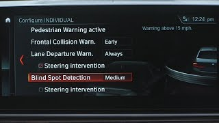 Blind Spot Detection | BMW Genius How-To