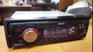 Автомагнитола Mystery MCD-671MPU USB, AUX, CD