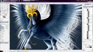 SpeedPaint: Ice Pegasus Thumbnail