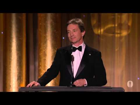 Martin Short honors Steve Martin at the 2013 Governors Awards