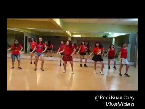 Kickick Line Dance  - Treat You Better (Demo By Serdang SK Group)