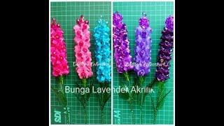 Bunga Lavender Akrilik / Acrylics Lavender Flower