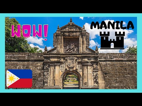 MANILA, the OLD CITY & the historic defensive WALLS of INTRAMUROS, PHILIPPINES