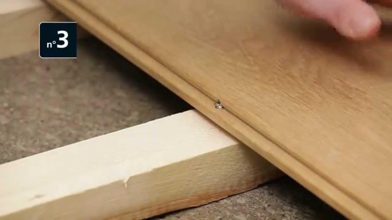 03 Dielenschraube  Vis parquet  YouTube ~ Vis Bois Tete Plate