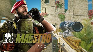 MAESTRO GAMEPLAY - Rainbow Six Siege Operation Parabellum DLC