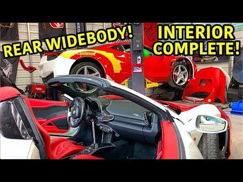 Rebuilding A Wrecked Ferrari 458 Spider Part 9
