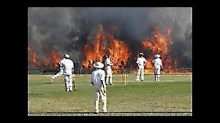 क्रिकेट मैच के दौरान हुयी चौंकाने वाली घटनाएं || Shocking Moments Im Cricket History