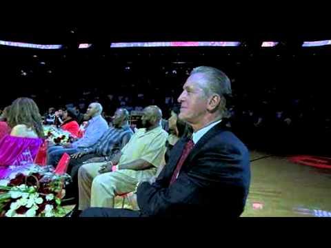 Alonzo Mourning retirement ceremony