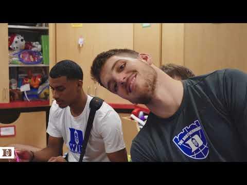 Duke Basketball Visits Duke Children's (9/13/17)