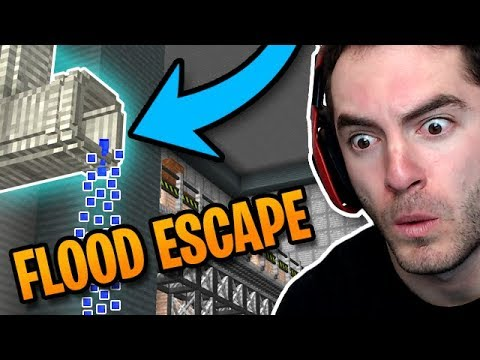 Minecraft: CAN WE ESCAPE THE FLOOD? thumbnail