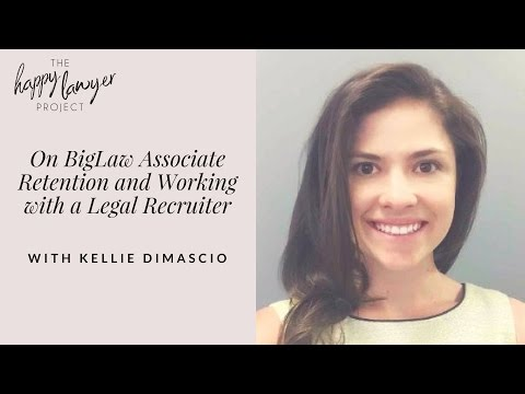 HLP019 -On Associate Retention and Working with a Legal Recruiter with Kellie DiMascio, Parker +...