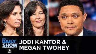"Jodi Kantor & Megan Twohey - ""She Said"" & Breaking the Harvey Weinstein Story 