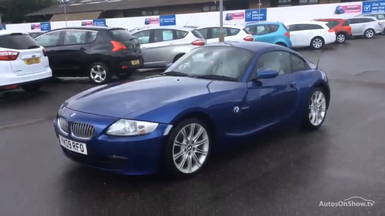 bmw z series z4 si coupe blue 2009 youtube. Black Bedroom Furniture Sets. Home Design Ideas